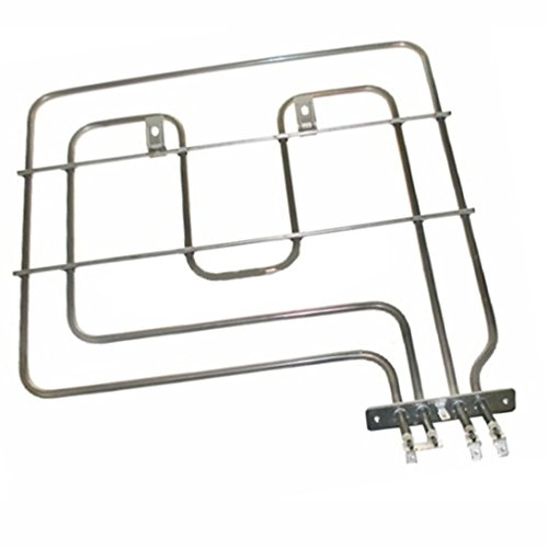 Spares2go Ofengrill-Element mit zwei Schaltkreisen, für Lamona Ofen-Kochfeld (2200W)