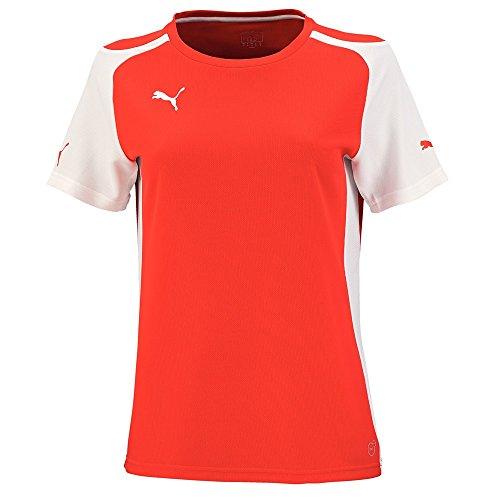 PUMA Trikot Speed Jersey - Camiseta de equipación de fútbol, Color Rojo/Blanco, Talla XXL