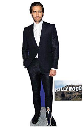 BundleZ-4-FanZ Jake Gyllenhaal Celebrity Lifesize Cardboard Cutout Fan Pack, 184cm x 56cm Includes Mini Cutout and 8x10 Photo