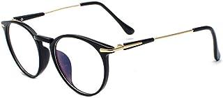 Inlefen New Unisex optical glasses Full frame Anti-blue light Clear Eyeglasses