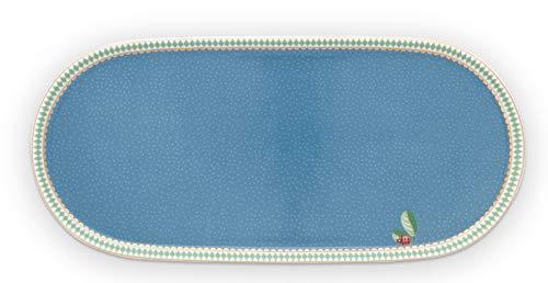 Pip Studio - Plato, plato, bandeja de leche y azúcar - La Majorelle - Blue - Porcelana - 25 x 12 cm
