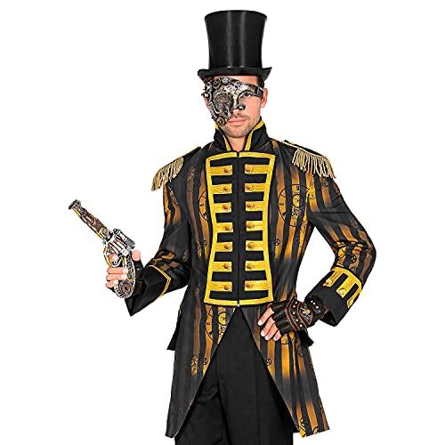 WIDMANN Widmann-49620 49620 Steampunk Parade para hombre, uniforme de garde, Timepunk, Spacepunk, disfraz, carnaval, fiesta temtica, multicolor, xx-large