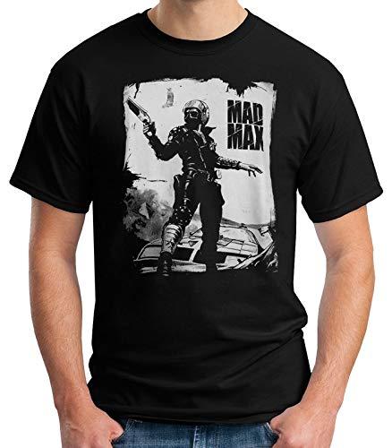 35mm - Camiseta Hombre Mad MAX - Pelicula De Culto - 80