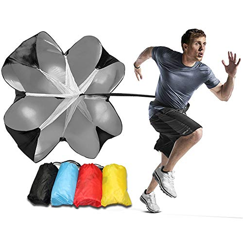 MZY1188 Running Speed Training - Laufschirm, Speed Resistance Training Fallschirm, Running Chute Speed Training Widerstand zur Verbesserung von Geschwindigkeit, Ausdauer, Kraft und Beschleunigung