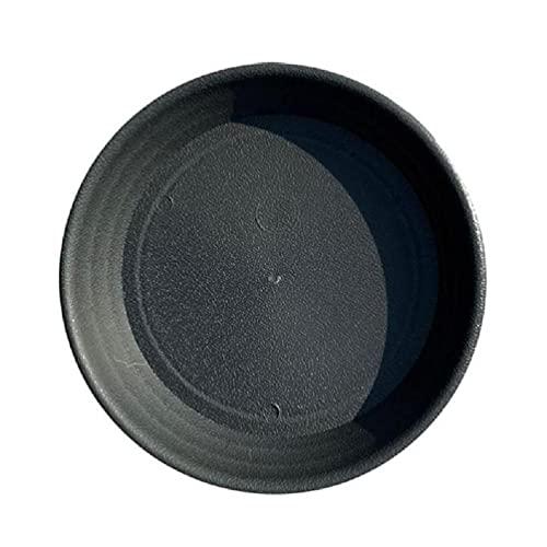 heilonglu Bandeja platillo de plástico para plantas de 6/8/12 pulgadas, platillos de maceta para interior y exterior, duradera, suministros de jardín