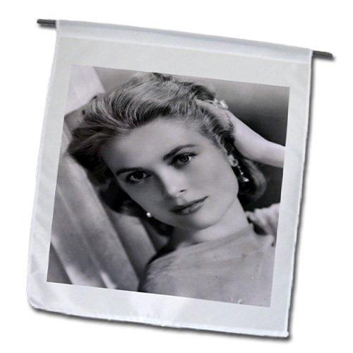 3dRose FL_100520_1 Foto von Eleganter Grace Kelly Gartenflagge, 30,5 x 45,7 cm