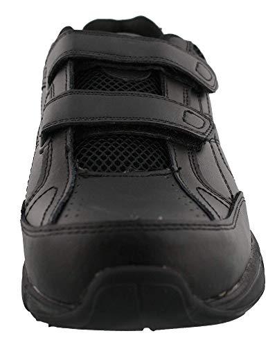 Dr. Scholl's - Men's Brisk Light Weight Dual Dtrap Sneaker, Wide Width (10 Wide, Black) New Jersey