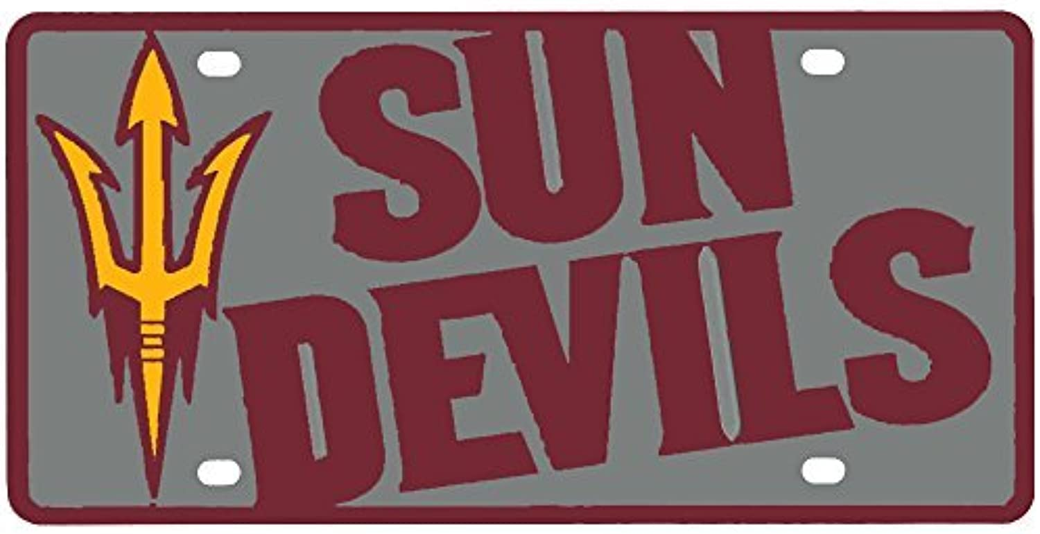 Arizona State Sun Devils Full color Mega Inlay License Plate by Stockdale