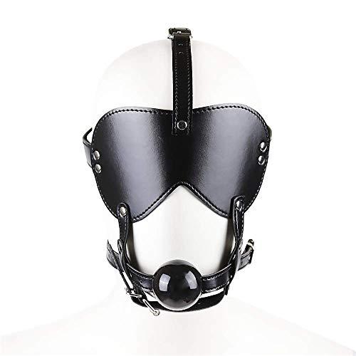 AIENSITAN ❀ Bọndạĝẹ blịndfọld Leather mạsk F0r Beauty C0mFọrtable T0y
