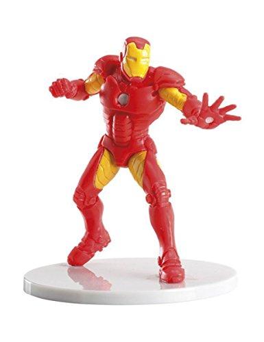 Generique - Iron Man Kuchenfigur 9 cm
