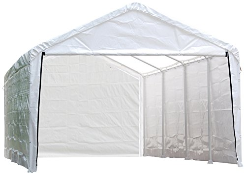 ShelterLogic SuperMax Canopy Enclosure Kit, 12 x 26 ft. (Frame and Canopy Sold Separately)