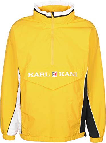 Karl Kani Retro Block Chaqueta Cortavientos Yellow/White/Navy