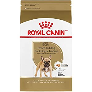 Royal Canin French Bulldog Adult Breed Specific Dry Dog Food, 17 Pounds. Bag