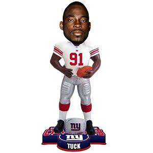 NFL New York Giants Super Bowl XLVI Champions Ring Bobble, J. Tuck