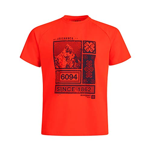 Mammut Herren T-shirt Mountain, rot, M