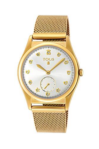 Reloj Tous Free de acero IP dorado Ref:800350815