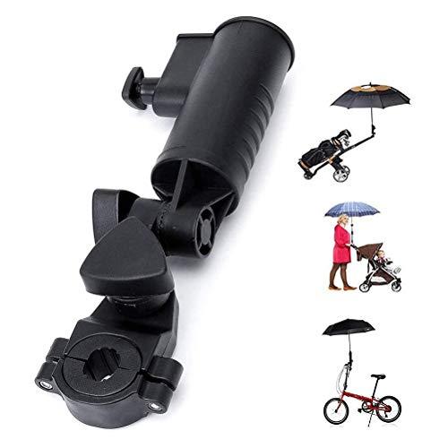 GFYWZ Golf Cart Umbrella Holder Universal Size Verstellbar, Golf Trolley Umbrella Holder Zubehör Geeignet Für Bike Kinderwagen Angeln Beach Chair Rollstuhl