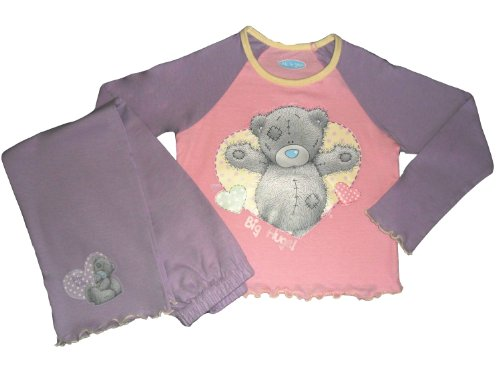 Me To You LILAC Tatty Teddy Bear Pyjama 2 pièces pour fille Taille 3-4 ans