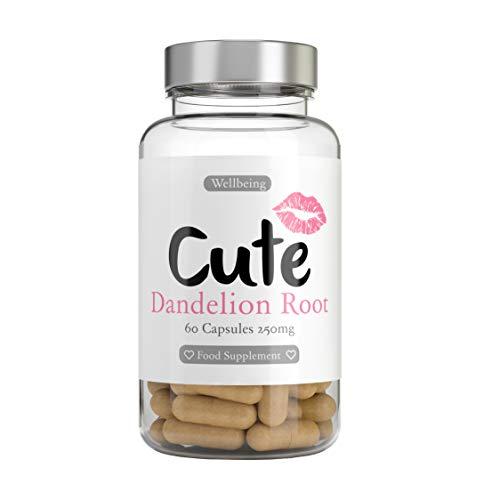Cute Nutrition Capsulas De Raiz De Diente De Leon para Mujeres 60 cápsulas...