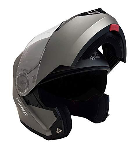 Römer Helmets Augsburg Casque à rabat en titane mat Taille M