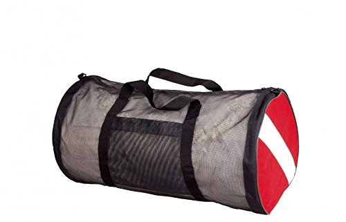 NEW scubamax Dive Flag Mesh Duffel Bag by Scuba Max