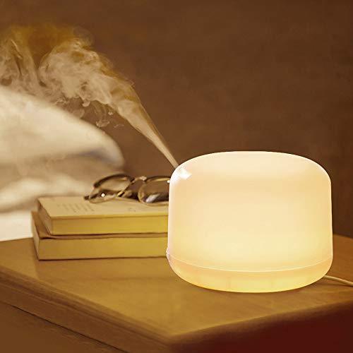 QJJML Purificador Aire Aromaterapia, Humidificador Aromaterapia UltrasóNico DiseñO Silencioso, Terapia Aromaterapia con...