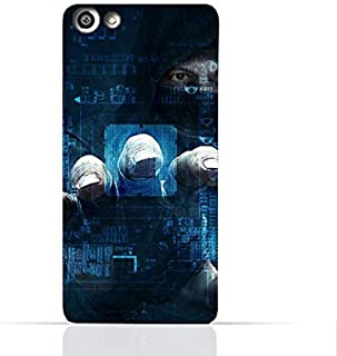 OPPO F3 TPU Silicone Case With Dangerous Hacker Design