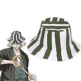 SosoJustgo2 Anime Bleach Urahara Kisuke Style Wide Brim Packable Bucket Sun Hat for Men & Women - UPF 50 UV Protection Outdoor Summer Fisherman Cap