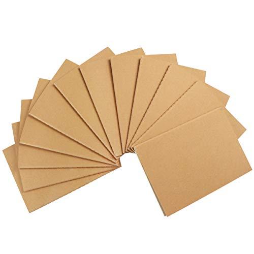 Toddmomy 12 Paquetes de Cuadernos de Papel Kraft Cuaderno de Viaje en Juego de Bloc de Notas a Granel para Los Estudiantes de Viaje Que Hacen Planes Suministros de Oficina Escolar