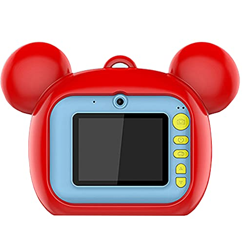 Draagbare kindercamera, fotoprinter Kids Instant Print Digitale Camera met Selfie Video Camera met 2,0 Inch scherm en TF…