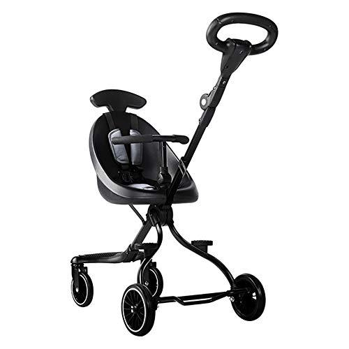 ZHENAI Leichte Sitzbuggys, Comfort Leichter Kinderwagen, Kinderbuggy, Buggy Sportwagen, Legeposition Klappbar, kompakt zusammenfaltbar, mit 5-Punkt-Gurt, Geeignet für 7-36 Monate, wiegt nur 5,4 kg