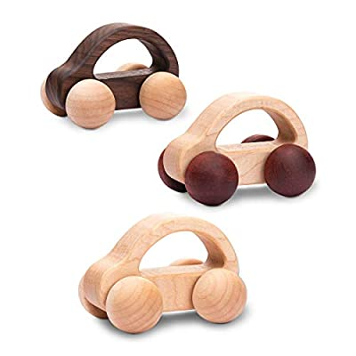 let's make Wooden Toy Car 2pc Organic Wood Toy Push Car Toddler Toy Push Car First Birthday Gift Baby Boy Gift