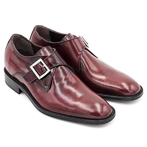 Masaltos Zapatos de Hombre con Alzas Que Aumentan Altura Hasta 7 cm. Fabricados EN Piel. Modelo Bari