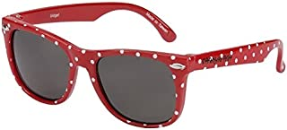 Frankie Ray Eyetribe Gidget Shade Sunglass for Kids, White Spotted