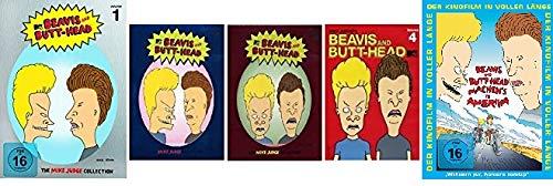 Beavis and Butthead - FAN SET - The Mike Judge Collection Volume 1+2+3+4 & machen´s in Amerika im Set - Deutsche Originalware [12 DVDs]