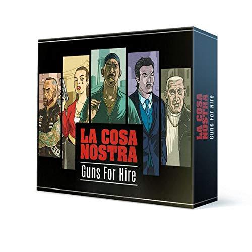 Spiel Direkt; Hard Boiled Games La Cosa Nostra: Guns for Hire (deutsch)