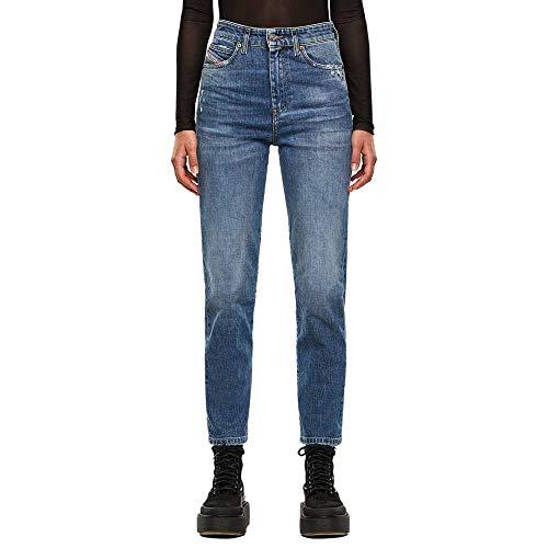 Diesel Damen D-EISELLE Jeans, 01 Blue Denim, 27W / 30L