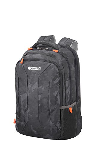 American Tourister Urban Groove 15.6 Inch Laptop Backpack, 44 cm, 26.5 Litre, Grey (Camo...