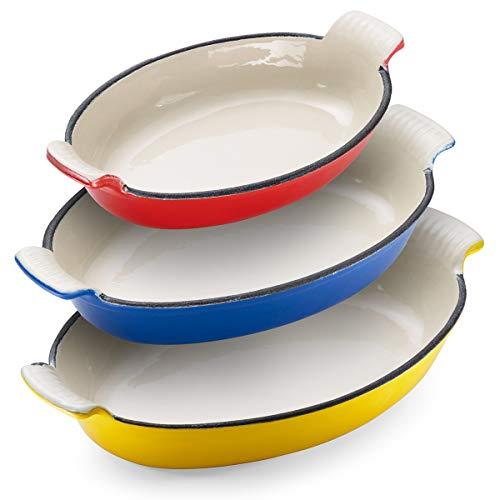 Klee Enameled Cast Iron Pan   Lasagna Pan