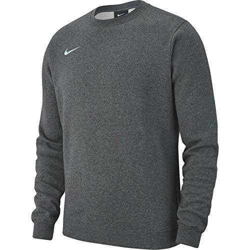Nike Męska bluza M Crw Flc Tm Club19 szary Charcoal Heather/White 16-22