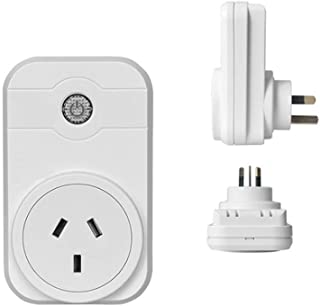 WiFi Smart Plug Alexa Remote Control Switch Socket Controlling Lights and Appliances by Phone Working with Amazon,Australia