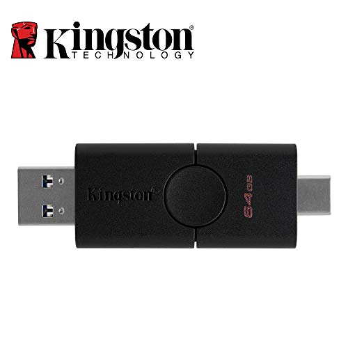 Kingston DataTraveler Duo DTDE/64GB Clé USB 64GB USB 3.2 Gen1 + Type-C