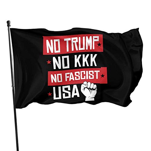 BHGYT No Trump No KKK 1 Flagge 3x5 FT Dekorationen PartyzubehörFlaggen für Home House Outdoor Indoor Decor