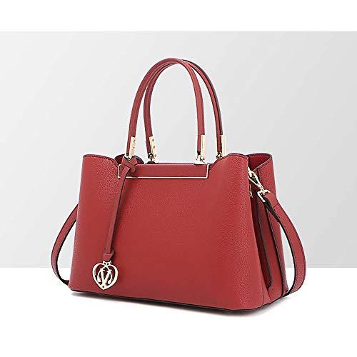 Echt lederen damestas, vrouwelijke stijl en wijze, multifunctionele handtas, grote capaciteits-Messenger Bag schoudertas