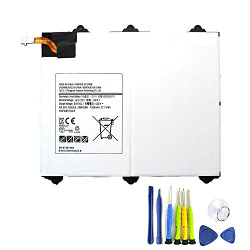 Dentsing EB-BT567ABA 3.8V 27.74Wh/7300mAh Laptop Battery Compatible with Samsung Galaxy Tab E 9.6 XLTE T560 SM-T560NU SM-T567 SM- T567V Series Notebook GH43-04535A EB-BT567ABE with Tools