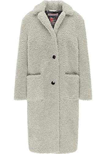 Frieda Freddies Fake Fur Coat Fake Fur Coat Off White 38