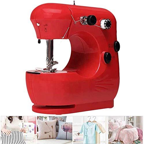 FTYUNWE Mini-Nähmaschine Für Anfänger Tragbare Elektrische Nähmaschinen Nähmaschine Einfache Schnellreparatur Für Heimreisen