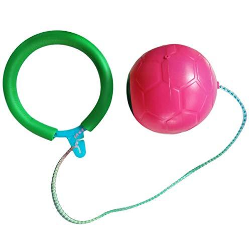 LoveOlvidoF 6 Colores Skip Ball Diversión al Aire Libre