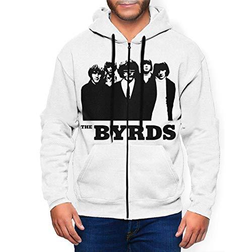 Yougou The Byrds Hoodies Sweatshirt Full-Zip Long Sleeve Jacket Men's Casual Fashion Fleeces