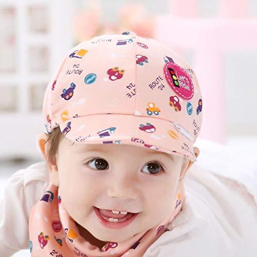 2020 Junge Mädchen Baseball Baskenmütze Hut Hut Kinder Little Car Print Baumwolle Neugeborene Kappen Weiche Sonnenhut Zubehör # BL5, A, China
